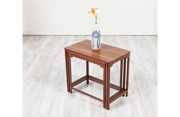 Edward J. Wormley Nesting Tables for Dunbar For Sale 1