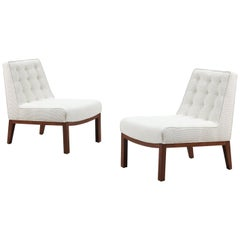 Edward J. Wormley Slipper Chairs for Dunbar
