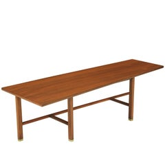 Edward J. Wormley Trapezoid Coffee Table for Dunbar