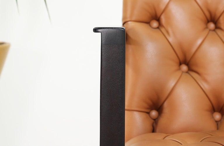 Edward J. Wormley Tufted Lounge Chair for Dunbar For Sale 3