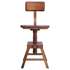 "Edward L. Koenig ""Sit-Rite"" Stool"