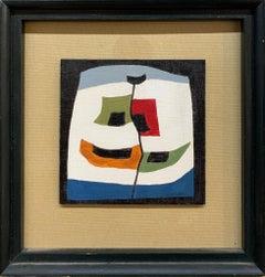 1950's CubisM abstract Flag Arrangements