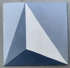 Untitled (Hard Edge minimalist abstraction)