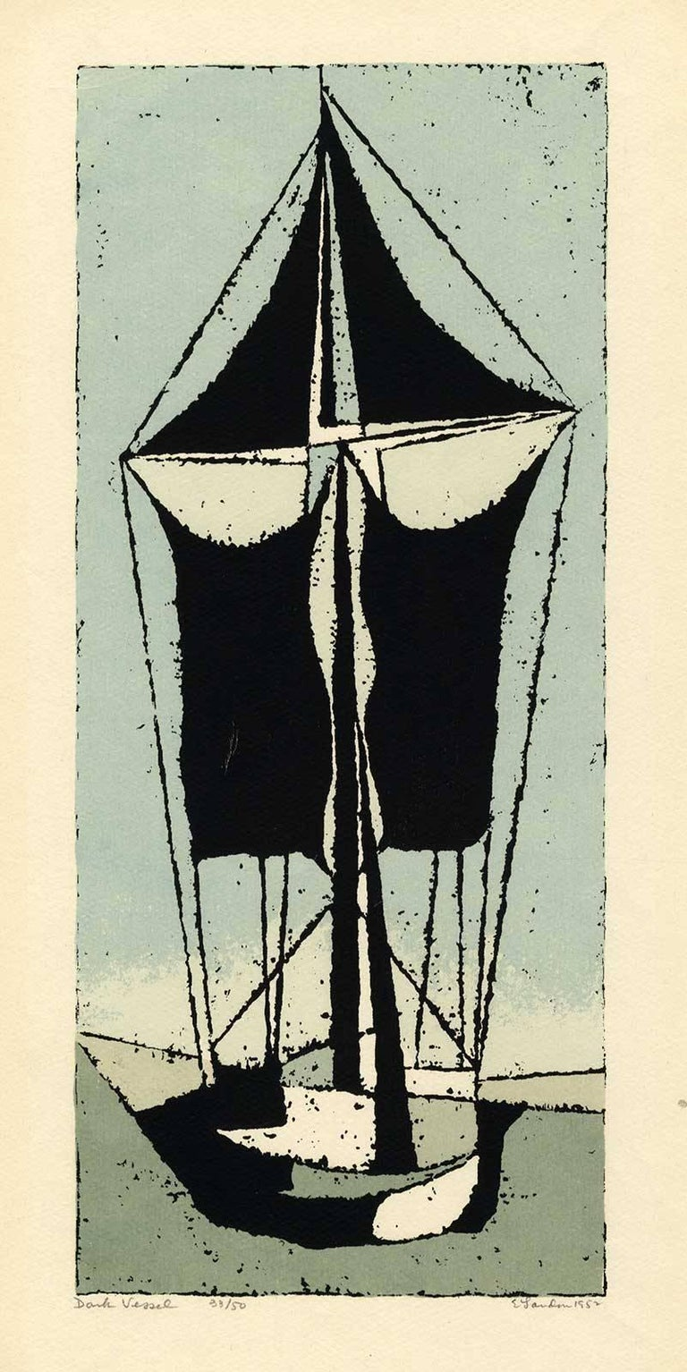 Dark Vessel (one of the very early examples of screenprinting as a fine art)
