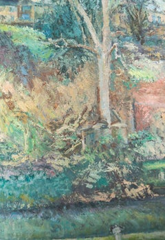 Edward Lewis (1936-2018) - Contemporary Oil, Hidden Cottage