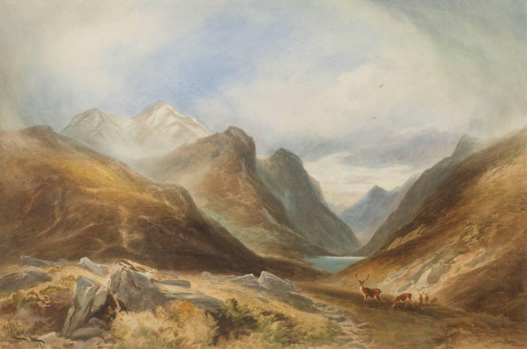 Glen Coe - Art by Edward Matthews