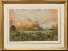 The Grampians from Loch Ericht