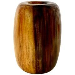 Edward Moulthrop Figured Tulipwood Donut Bowl