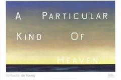 2001 After Edward Ruscha 'A Particular Kind of Heaven' Pop Art USA
