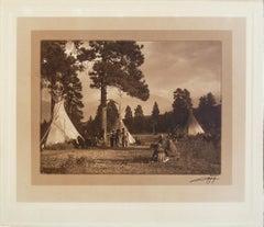 Flathead Camp On The Jocko River