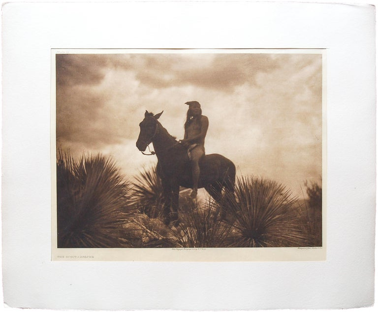 The Scout - Apache - Photograph by Edward S. Curtis