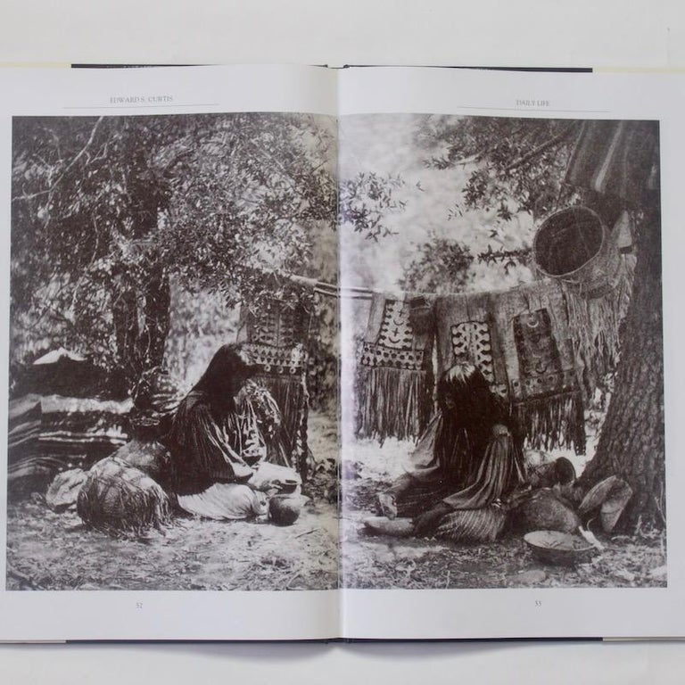 Edward S. Curtis  By Barry Pritzker  Published by JG Press, North Dighton, Massachusetts, 1993. Hard Back in Dust Jacket. First edition. Black boards with gold lettering to spine.   Edward Curtis was not like most photographers. He was not the