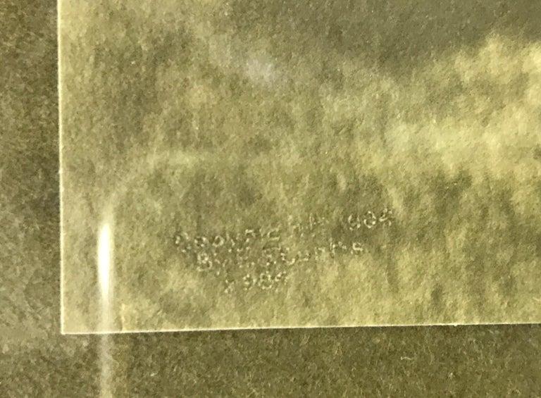 Edward S. Curtis Original Signed Stamped Platinum Print the Vanishing Race, 1904 1