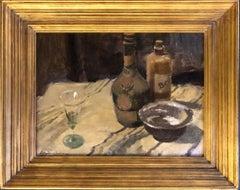 'Dutch Still Life, 1957' Original Modern British Impressionist oil painting