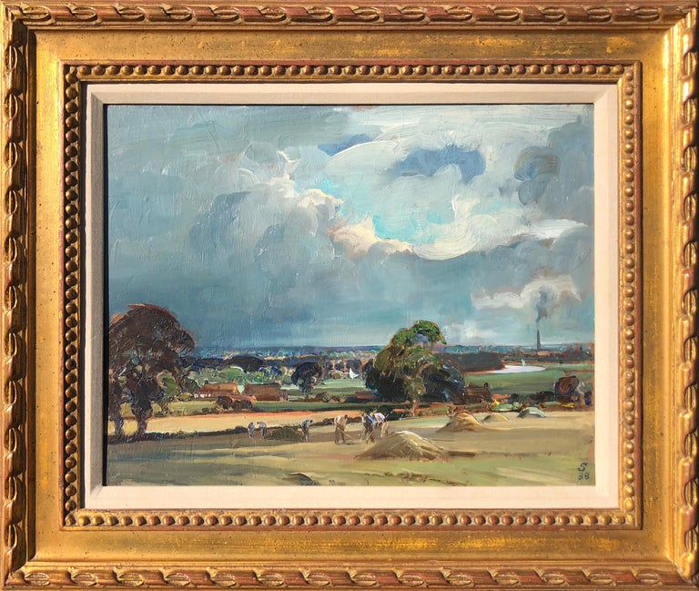 The Bure Valley - Painting by Edward Seago