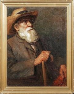 Portrait Of Edgar DEGAS (1834-1917), early 20th Century