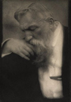 Edward Steichen. M. Auguste Rodin 1911, photogravure on Japan tissue, Camerawork