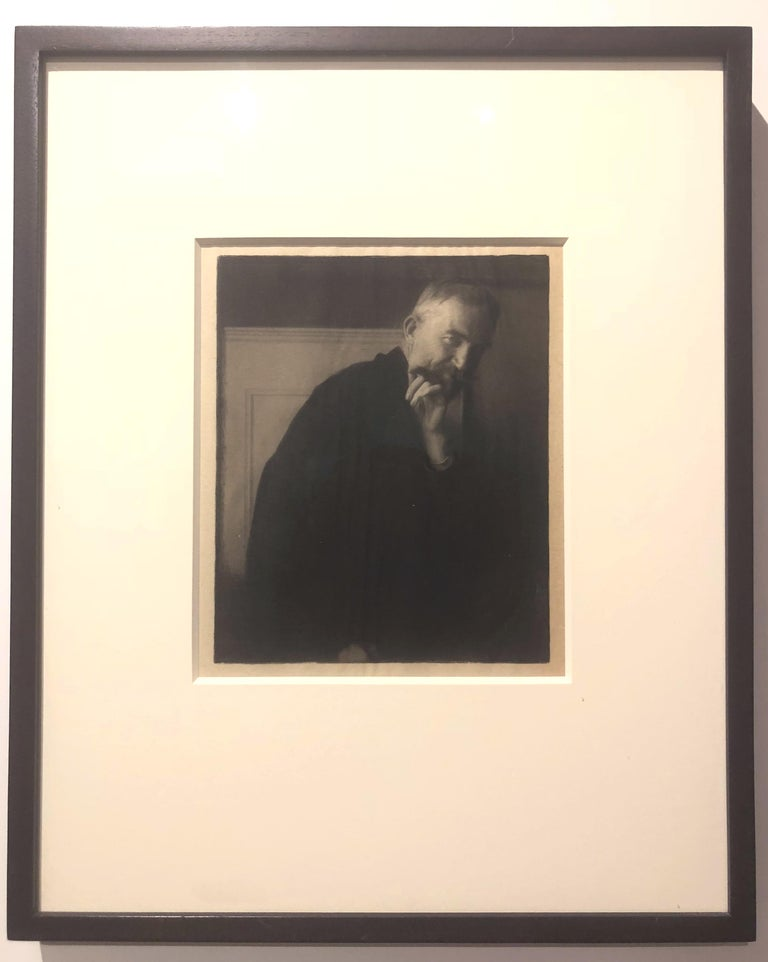 Edward Steichen (1879-1973). The Photographer's Best Model – Bernard Shaw, 1913. 7.75 x 6.5