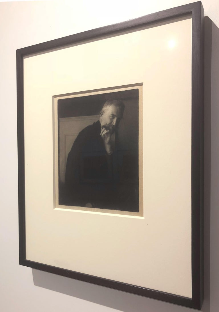 Edward Steichen. The Photographer's Best Model-Bernard Shaw, 1913, photogravure For Sale 1