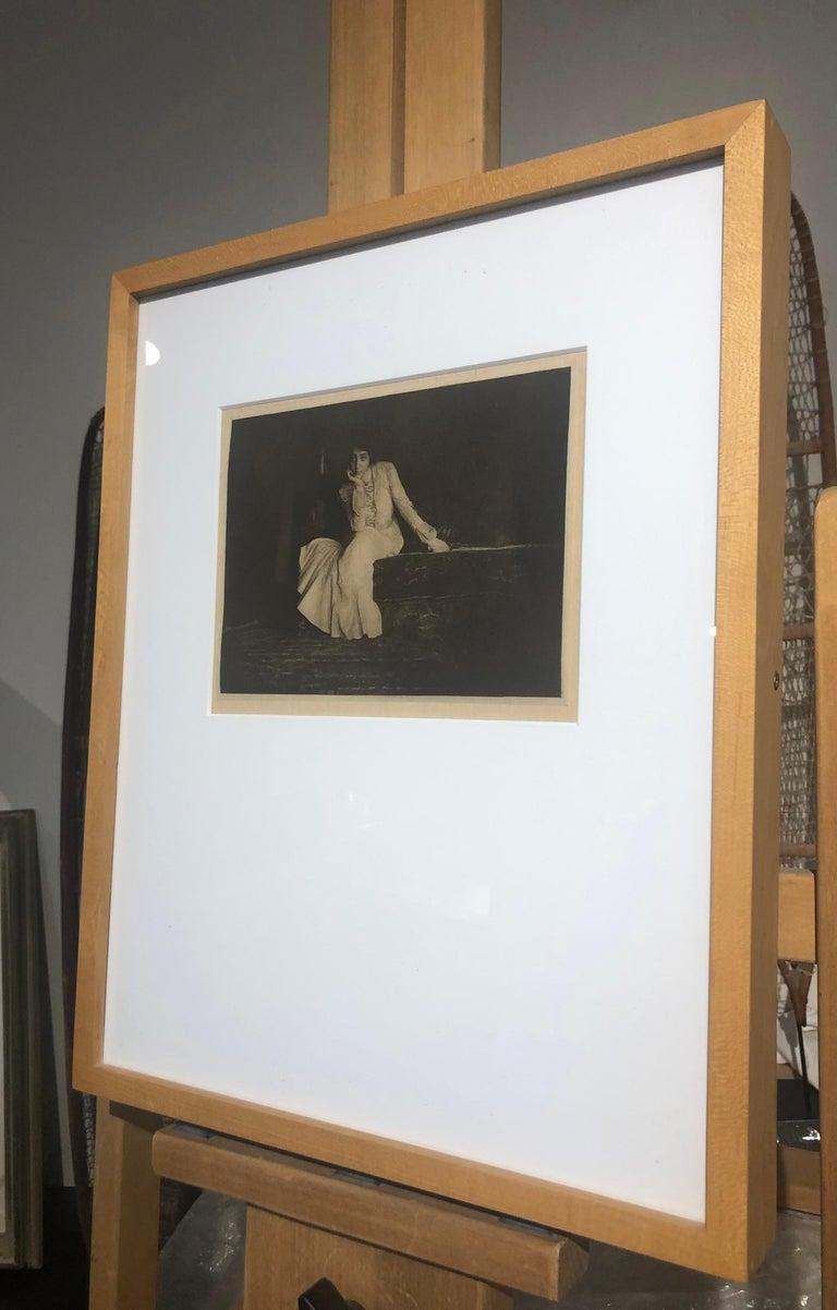 Joseph T. Keiley, Portrait, Miss De C., 1907 From Camera Work No. 17  For Sale 1