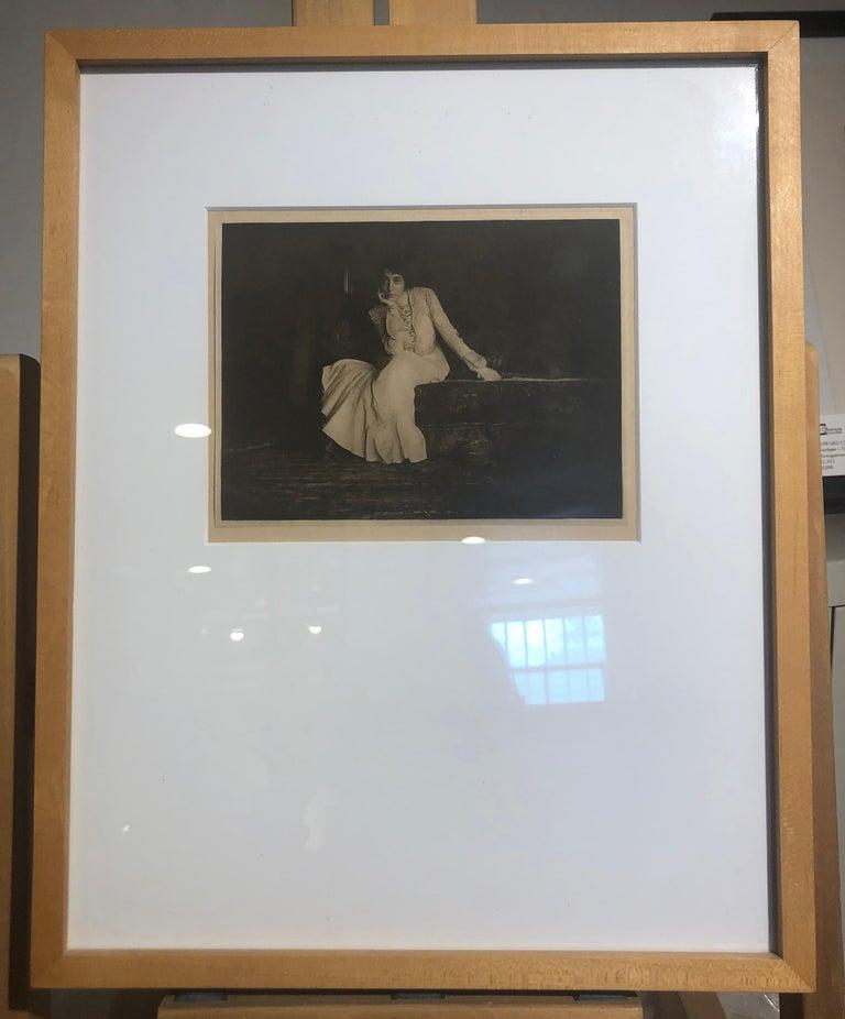 Joseph T. Keiley, Portrait, Miss De C., 1907 From Camera Work No. 17  For Sale 2