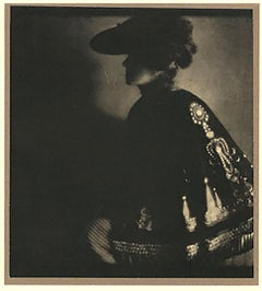 Poster Lady, 1906, from Camerawork, Steichen Supplement, photogravure