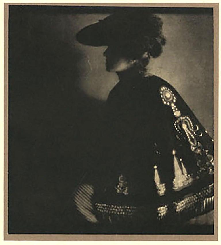 Edward Steichen Portrait Photograph - Poster Lady, 1906, from Camerawork, Steichen Supplement, photogravure