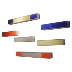 "Edward Van Vliet ""Chachacha"" Wall Lightings for Modular Lighting System, 1990s"