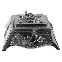Edward VII 1901 Coronation Silver Box, Mappin & Webb, London, 1901