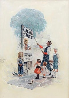 """Circus Day,"" Cream of Wheat Advertisement, Saturday Evening Post, 1923"