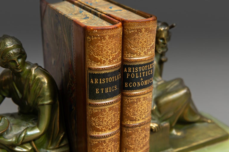 Edward Walford and R.W. Browne, Aristotle's Politics, Economics and Ethics In Good Condition In New York, NY
