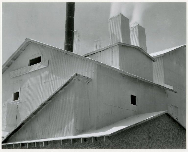 Edward Weston Landscape Photograph - Plaster Works, Los Angeles, 1925