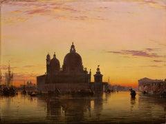 Santa Maria della Salute at Sunset, Venice
