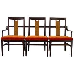 Edward Wormley 3-Seat Bench in Mahogany Dunbar Custom Order