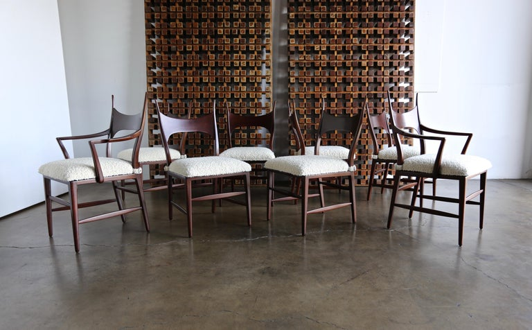 Edward Wormley 5580 Dining Chairs for Dunbar, 1950s For Sale 3