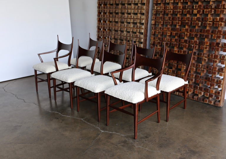 Edward Wormley 5580 Dining Chairs for Dunbar, 1950s For Sale 4
