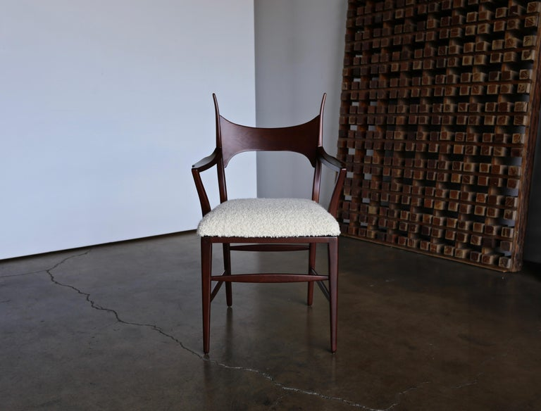Edward Wormley 5580 Dining Chairs for Dunbar, 1950s For Sale 5