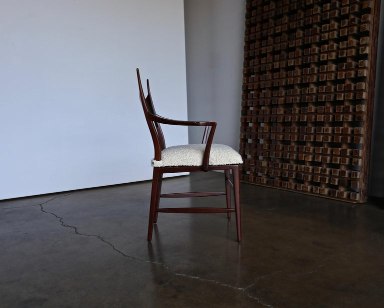 Edward Wormley 5580 Dining Chairs for Dunbar, 1950s For Sale 6