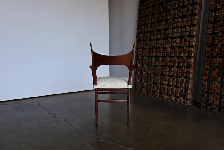 Edward Wormley 5580 Dining Chairs for Dunbar, 1950s For Sale 8
