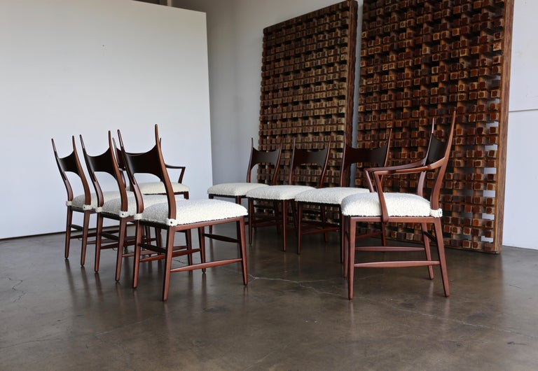 Mid-Century Modern Edward Wormley 5580 Dining Chairs for Dunbar, 1950s For Sale