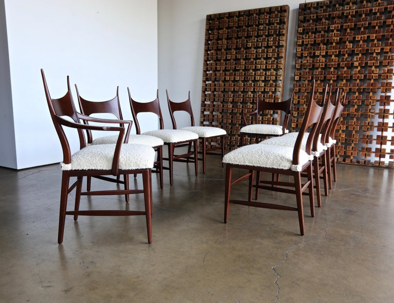American Edward Wormley 5580 Dining Chairs for Dunbar, 1950s For Sale