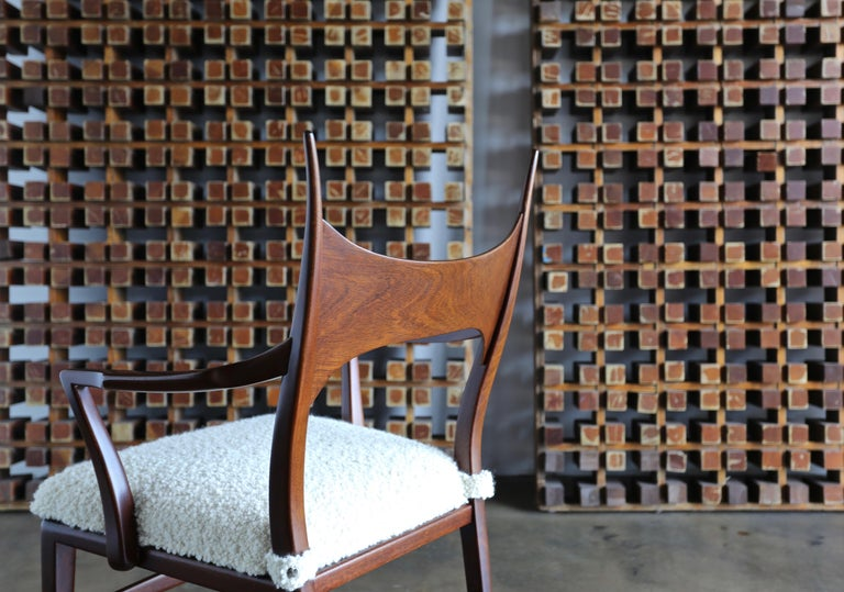 20th Century Edward Wormley 5580 Dining Chairs for Dunbar, 1950s For Sale