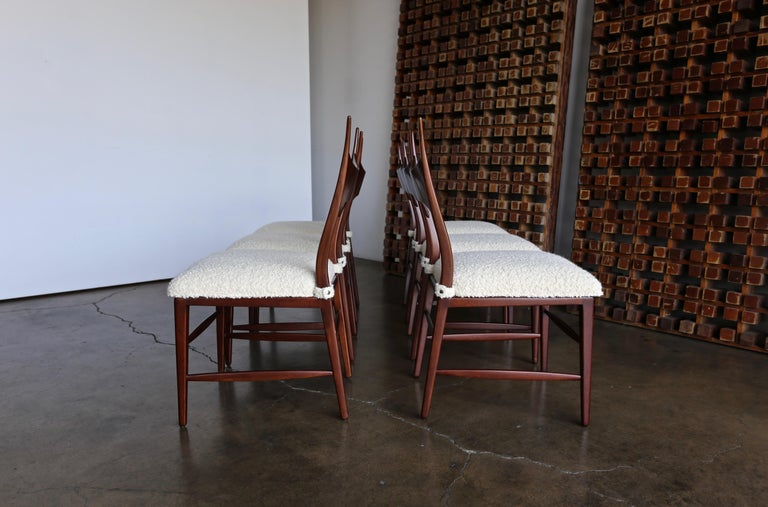 Edward Wormley 5580 Dining Chairs for Dunbar, 1950s For Sale 2