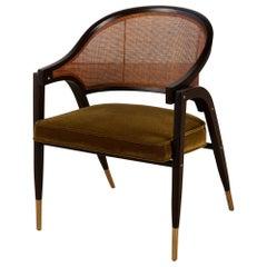 Edward Wormley A-Frame Armchair for Dunbar
