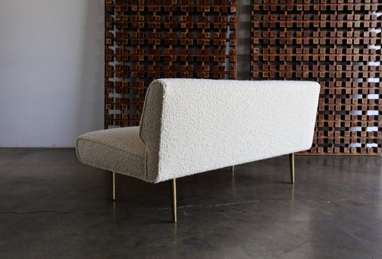 Edward Wormley Armless Sofa for Dunbar, circa 1955 For Sale 4