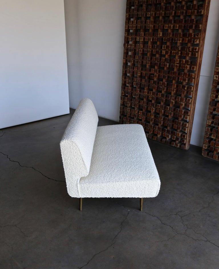 Edward Wormley Armless Sofa for Dunbar, circa 1955 For Sale 5