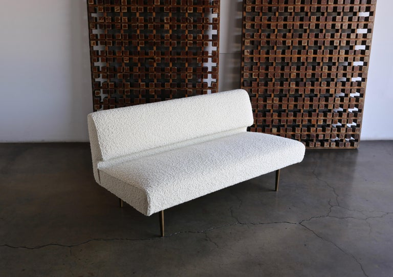 Edward Wormley Armless Sofa for Dunbar, circa 1955 For Sale 6