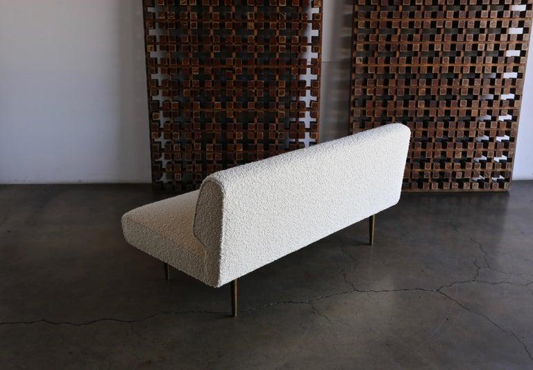 Edward Wormley Armless Sofa for Dunbar, circa 1955 For Sale 8