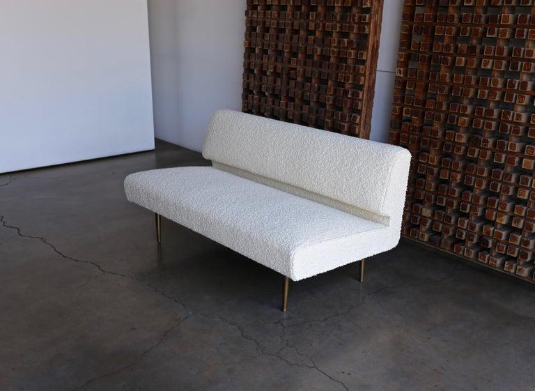 Edward Wormley Armless Sofa for Dunbar, circa 1955 For Sale 9