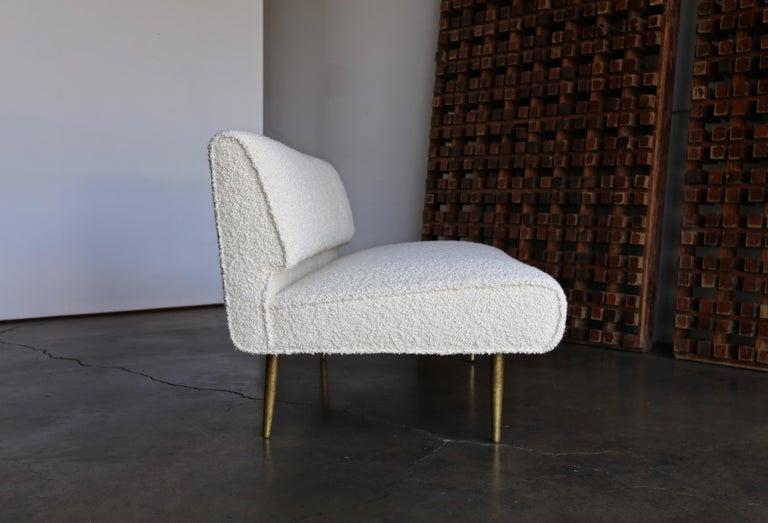 American Edward Wormley Armless Sofa for Dunbar, circa 1955 For Sale